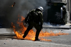 Riots in Athens / Eπεισόδια στην Αθήνα