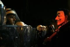 Protest in Syntagma Square /  Διαμαρτυρία στην πλατεία Συντάγματος